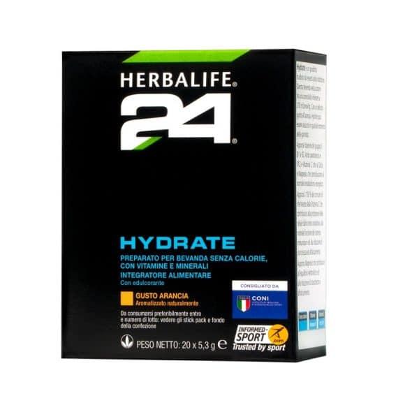H24 Hydrate gusto arancia 20 bustine