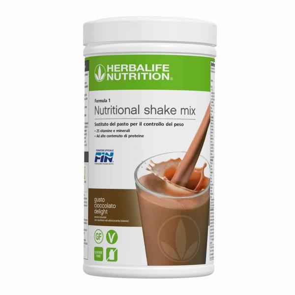 formula 1 sostitutivo pasto cioccolato