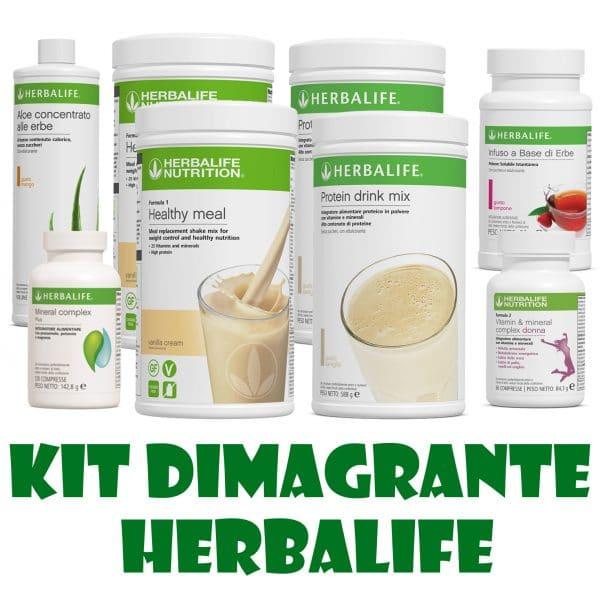 kit dimagrante herbalife