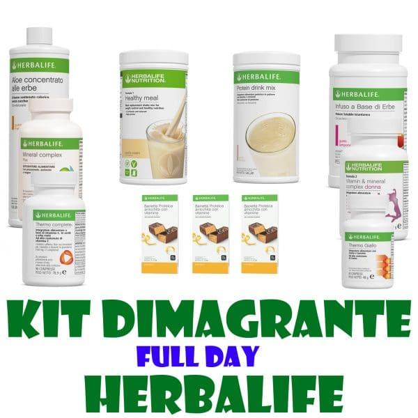 kit dimagrande full day herbalife
