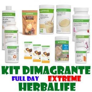 kit dimagrante full day extreme herbalife