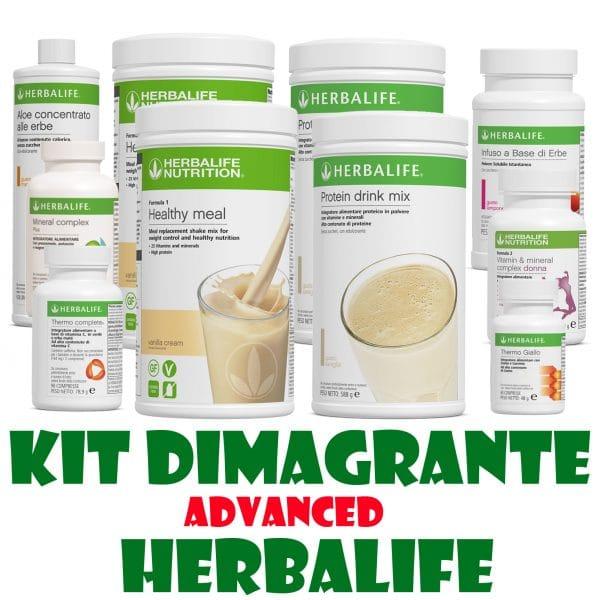 kit dimagrante advanced herbalife